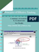 Principles of Effective Teaching (2)