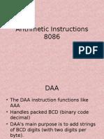 Arithmetic Instructions CEK