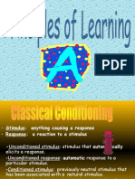 Ch. 9 Principles of Learning