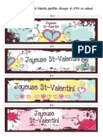 Signets St Valentin