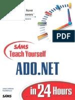Sams teach yourself ADO.NET in 24 hours - Jason Lefebvre, Paul Bertucci.pdf