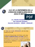 ROL DE LA ENFERMERA EN LA ATENCION DOMICILIARIA.ppt
