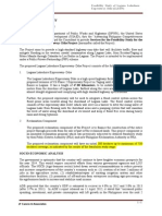 Services for the Feasibility Study for the Laguna Lakeshore Expressway- Dike Project (y