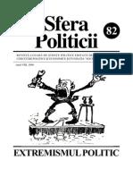Extremismul, Sfera Politicii 82