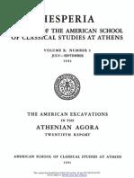 Some Athenian 'cleruchy' money / [Margaret Thompson]