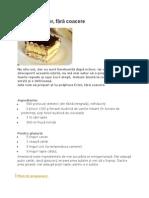 Prăjitura Ecler