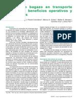 Secado de Bagazo en Transporte Neumático Beneficios Operativos y Ambientales