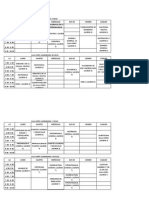 Horarios Agronomia 2015-1