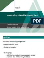 Clinical Laboratory Data