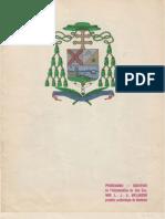 Livret - Intronisation, MGR L.-J.-A. Melanson - Archevêque de Moncton - janvier 1937