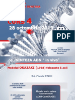 Genetica MD - Curs 4 28 Octombrie 2013