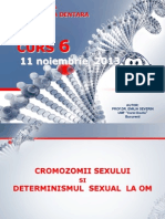 Genetica MD - Curs 6 Noiembrie 2013
