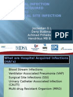 Nosocomial Infection and Surgical Site Infection