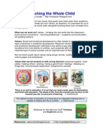 Bulgaria Post Session Handout Whole Child and Active Grammar (After the Session)