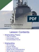 Shiphandling II
