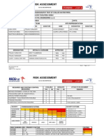 Risk Assessment Welding & Radiography of Chilled Water Pipe