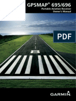 Garmin GPSMAP 695/696 Owners manual