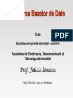 baze de date