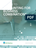 A Guide to Accounting for Business Combinations 2nd Ed