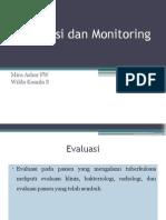 Evaluasi Dan Monitoring