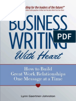 Business Writing With Heart