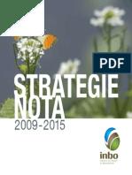 INBO Strategienota 2009-2015