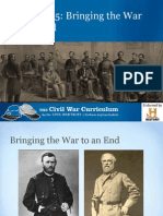 Bringing the War to an End - PPT
