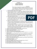 Guía de Estudios 3ro