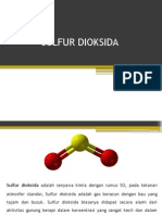 Sulfur Dioksida
