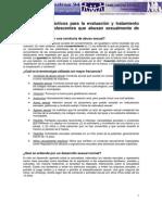 Parametros Practicos Para La Evaluacion y Tratamiento de Ninos y Adolescentes