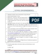 GATE Civil Engineering 2015_Mock 2