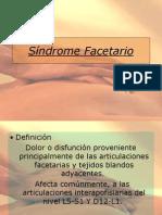 Síndrome Facetario