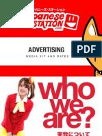 Advertising MediaKit 2014 Japanese Station