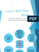 Music and Your Body