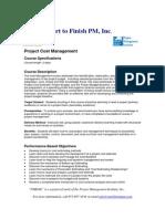 Cost Management