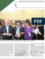 """""""Los clásicos, un mapa clave para el futuro"""" - Presentación de 'El pasado que te espera' (Irene Vallejo) - Heraldo de Aragón"""