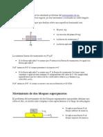 Dinamica de Dos Partículas