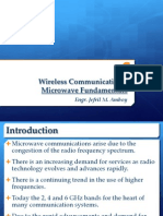 Wireless Comms Introduction to Microwave