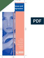 DepressionBrochure WOMEN