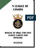 Canadian Navy Drill Manual