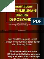 Abas Pertumbuhan Balita, KMS dan SKDN.ppt