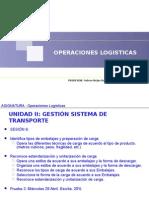 CLASE 06 Operaciones Logisticas 2015