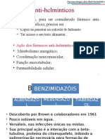 Farmaco.slides.antihelmiantnticos.benzimidazois
