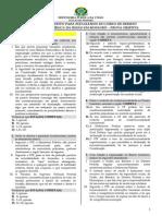 Prova Objetiva DPF