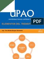 Elementos Del Tránsito, Los Usuarios, El Peatón y El Conductor