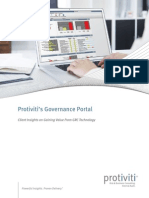 Protiviti Governance Portal Client Insights