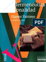 Hermenéutica y Racionalidad - Gianni Vattimo.pdf