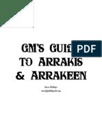Гид Для ГМа - Арракис и Столица Арракин