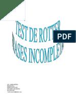 Manual Del Test de Rotter