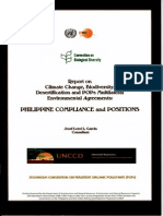 Report on Philippine Compliance to MEAs